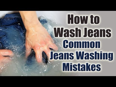How to Wash Jeans the Right Way | Common Jean Washing Mistakes