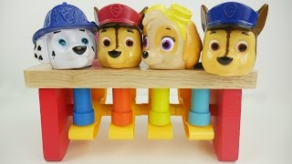 Best Learning Toddler Video for Kids Paw Patrol Teach Kids Colors Fun Preschool Toy Ball Peg Benches