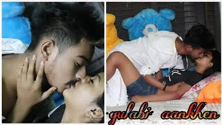 Gulabi Aankhen Jo Teri Dekhi   gulabi hot _Love story'love story video new 2020'new hindi@Ruk Movies