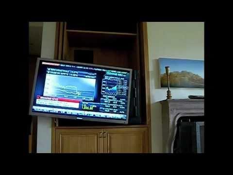 Custom motorized mount for 55 samsung led tv rotate and swing out custom motorized mount for 55 samsung led tv rotate and swing out youtube ccuart Images