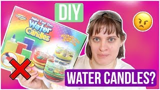 Water Candles !?! Testing Another DIY Craft Kit | Royalty Soaps