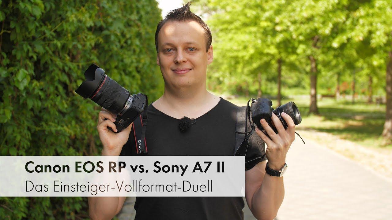 Download Canon EOS RP vs. Sony A7 II | Duell der Einsteiger-Vollformat-DSLMs [Deutsch]