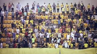 جماهير الاهلي في النهائي الأول ضد نادي النجمة 2017 م
