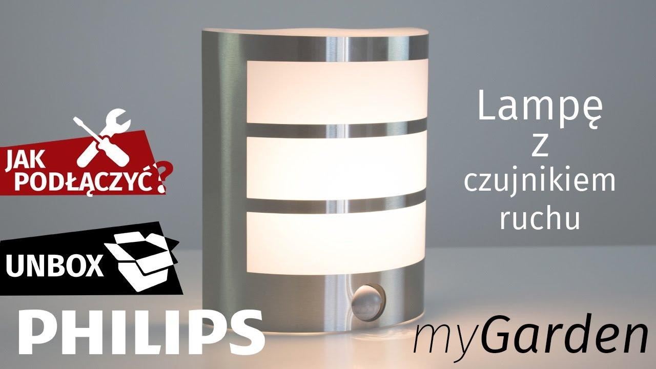 Vaak JAK PODŁĄCZYĆ lampę LED kinkiet z czujnikiem ruchu Philips IY77