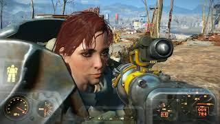 Fallout 4 Гуляем по пустоши #7 (Без комментариев) #GameOver