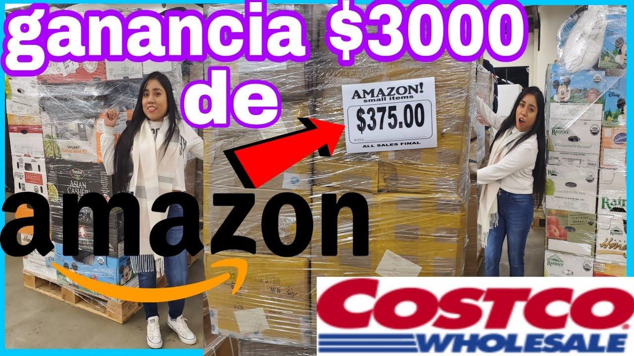 Pague 375 Por 3000 Pallet De Amazon De Devoluciones De Clientes De Amazon Youtube
