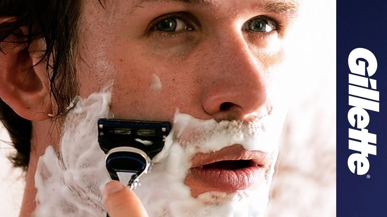 shaving tips how to shave a beard gillette youtube. Black Bedroom Furniture Sets. Home Design Ideas