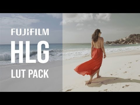 Fujifilm HLG Cinematic Lut Pack (18 Luts for Fuji XT3 XH1 HLG files