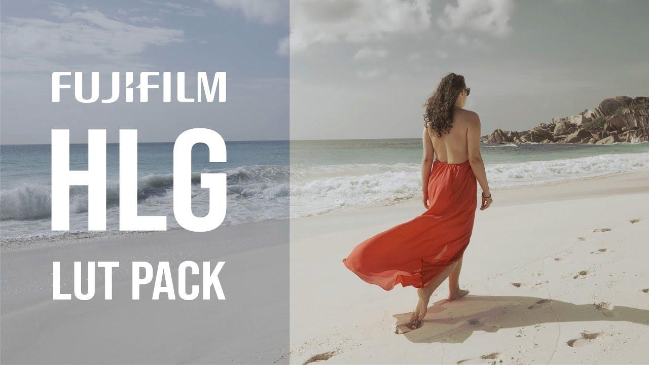 Fujifilm HLG Cinematic Lut Pack (18 Luts for Fuji HLG - Razvan D