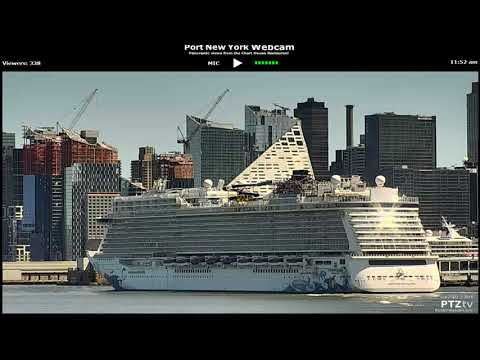 Norwegian Escape in New York City April 22 2018 (inaugural voyage to new york)