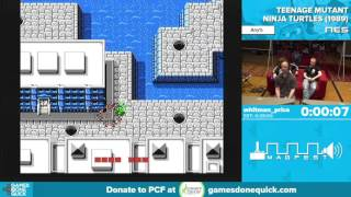 Teenage Mutant Ninja Turtles by whitman_price in 19:26 - Awesome Games Done Quick 2016 - Part 74