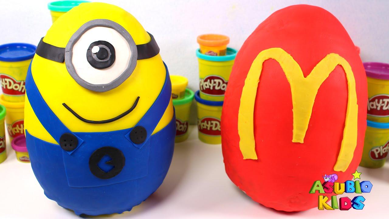 Sorpresa Los De Mejores Juguetes Huevos Español En Minions Para Niños McdonaldsTus 8kPN0nwXOZ