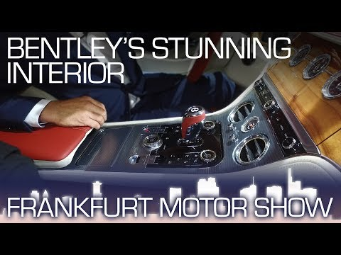 Bentley Continental GT: Precision Interior - Frankfurt Motor Show 2017
