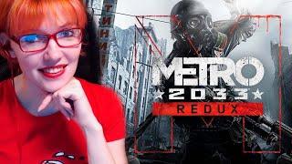 Вредная вышла на прогулку в Метро. | Metro 2033 Redux #4