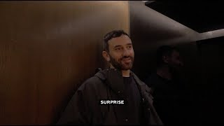 Inside the Lift by Marc Isaacs featuring Riccardo Tisci | Burberry HQ | London