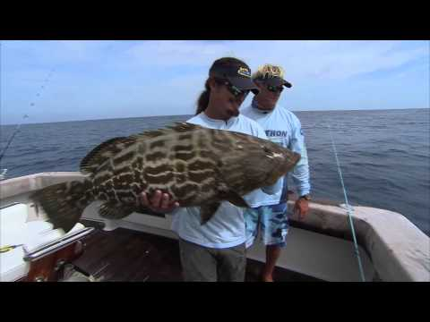 Grouper Fishing and Snapper Fishing the Dry Tortuga Key West Florida
