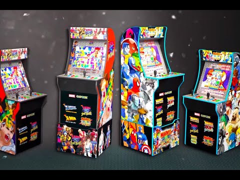 Marvel VS Capcom ARCADE1UP Unboxing + Review Part 2 from July Diaz