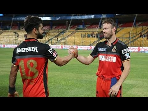 VIirat  Kohli | AB de Villiers | Practice | Video | Funny | Banglore | M. Chinnaswamy Stadium | HD