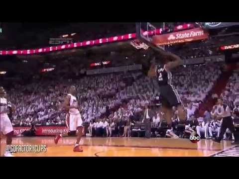 Kawhi Leonard vs LeBron James Full Duel Highlights 2014 Finals G3 - Spurs at Heat