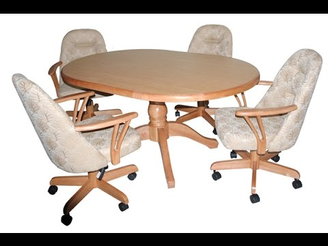 Dining Chairs With Caster Wheel Youtube