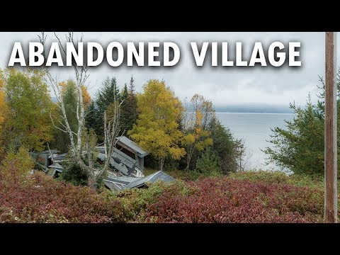 ABANDONED CANADA VILLAGE AND MINE | Michipicoten Harbor Ghost Town Ontario