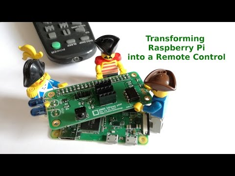 Transforming Raspberry Pi into a Remote Control with ANAVI Infrared pHAT