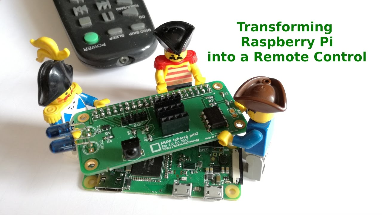 Transforming Raspberry Pi Into A Remote Control With Anavi Infrared Projectsprogramming And Many More 433mhz Phat