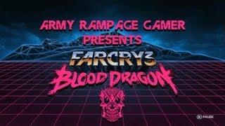 Far Cry 3: Blood Dragon - (Gameplay HD) - Cyber Ninja Motherfucker - Army Rampage Gamer