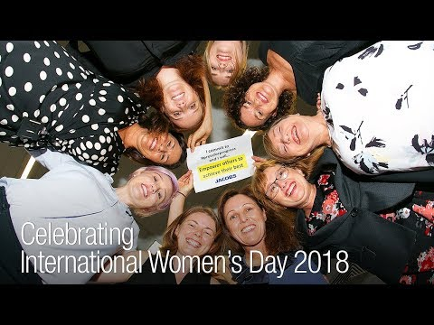 Jacobs Employees Celebrate International Women's Day 2018