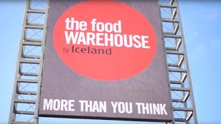 We want you to become a Food Warehouse Ambassador!
