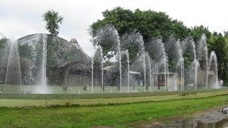 Spectacular Musical Fountain Video At Science City, Kolkata - West Bengal Tourist Attraction