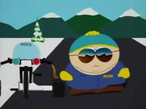 Cartman Respect My Authoritah South Park