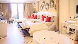 ВЛОГ: отдыхаем в Мексике, показываю наш номер в отеле(Наш отель — Royalton Riviera Cancun Поиск самых дешевых авиабилетов — http://avia.lizaonair.com Аренда квартир — http://airbnb.com/c/lizaonair..., 2015-02-17T13:00:00.000Z)