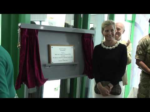 Surrey Dolphins Swimobility Royal Visit - Her Royal Highness, the Countess of Wessex