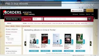 How to setup and put ebooks on your Sony Reader