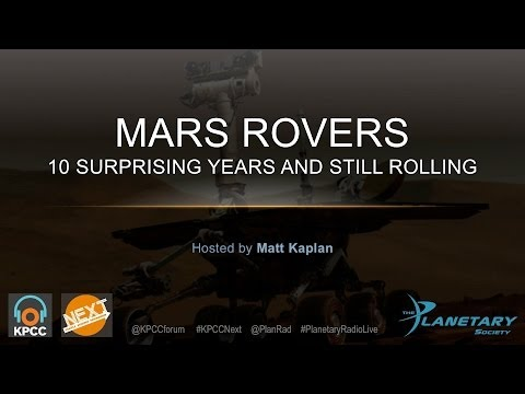 Mars Rovers -- 10 surprising years, and still rolling
