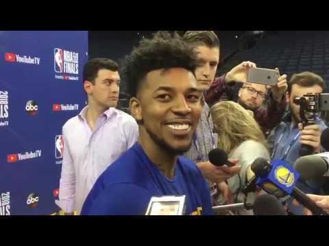bc2c12567 Nick Young on facing off against old Lakers teammates Larry Nance Jr. and  Jordan Clarkson