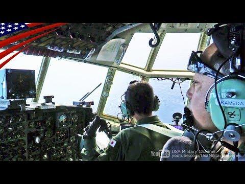 航空自衛隊C-130コックピット映像:日米豪合同訓練コープ・ノース・グアム2018