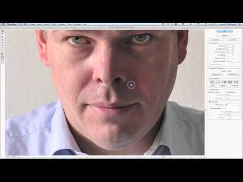 Tutorial - Portrait Retusche bei Männern mit Nikon Capture und Photoshop CS5 - Full HD 1080p