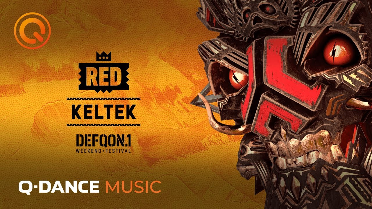 KELTEK - The Colors Of Defqon 1 RED Mix 2019-05-25