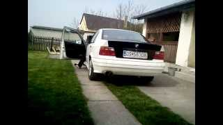 BMW 318i E36 exhaust sound