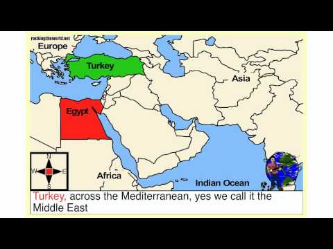 The Middle East Geography Song