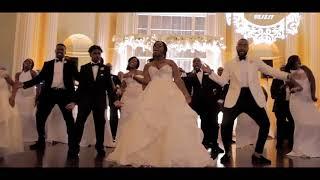 The Calvins' Wedding Party Dance