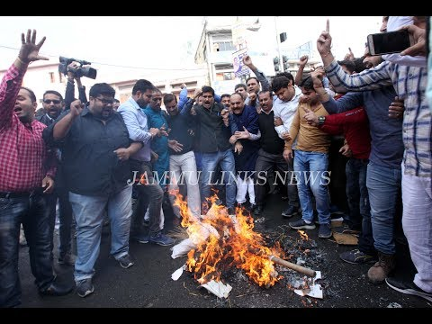 Massive protests rock Jammu region over killings of BJP leader, his brother
