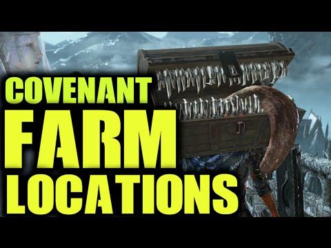 Dark Souls 3 - All Covenant Farm Locations and Rewards [COGINC]