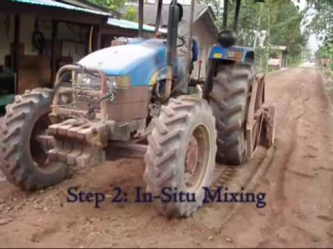Rural Road Malaysia with Magic Cement TerraFirma