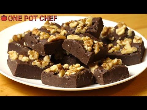 Best Ever Chocolate Fudge | One Pot Chef