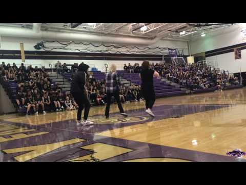 Divine Illusion Crew preforming at the Holy Family High School talent show 2017!