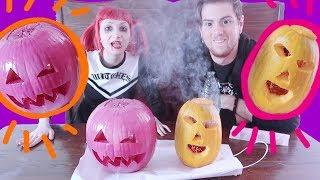 Zucca di Halloween CHALLENGE ft. SNITECS