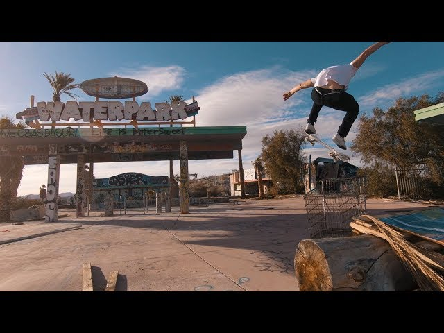 GoPro Awards: Dreamy Skate Follow Cam with FPV Drone